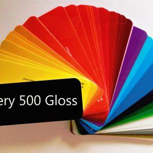 Avery 500 Glanzend Kleuren folie