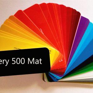 Avery 500 Mat Kleuren folie